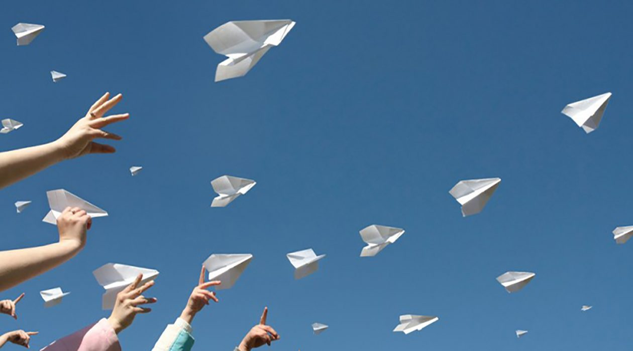 Check out paper airplanes by Racepoint