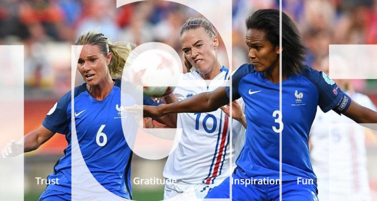 TGIF - Girl Power Female soccer