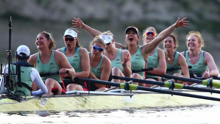 Women Cambridge Crew Team Spirit