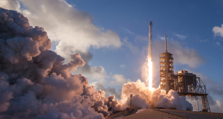 SpaceX launch - think scaling up